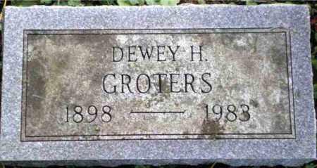 GROTERS, DEWEY - Monroe County, New York | DEWEY GROTERS - New York Gravestone Photos