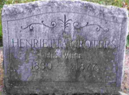 MELLINK GROTERS, HENRIETTA - Monroe County, New York | HENRIETTA MELLINK GROTERS - New York Gravestone Photos