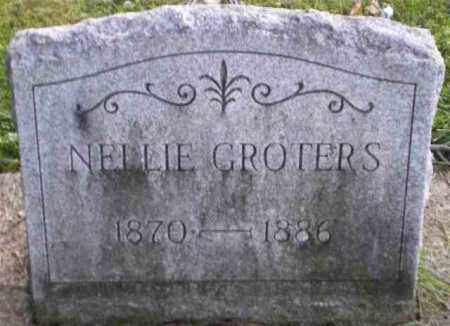 GROTERS, NELLIE - Monroe County, New York | NELLIE GROTERS - New York Gravestone Photos