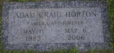 HORTON, ADAM CRAIG - Monroe County, New York | ADAM CRAIG HORTON - New York Gravestone Photos