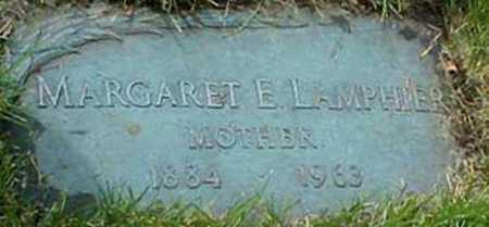 LAMPHIER, MARGARET E - Monroe County, New York | MARGARET E LAMPHIER - New York Gravestone Photos