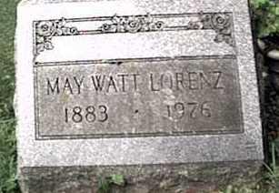 LORENZ, MAY - Monroe County, New York | MAY LORENZ - New York Gravestone Photos