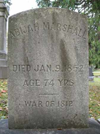 MARSHALL, ABIJAH - Monroe County, New York | ABIJAH MARSHALL - New York Gravestone Photos