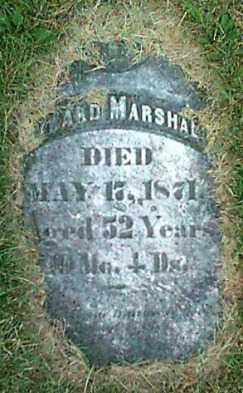 MARSHALL, EDWARD - Monroe County, New York   EDWARD MARSHALL - New York Gravestone Photos
