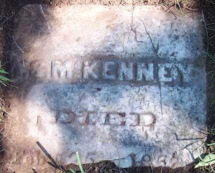 MCKENNEY, A. S. - Monroe County, New York   A. S. MCKENNEY - New York Gravestone Photos