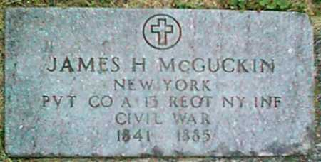 MCGUCKIN (CW), JAMES H. - Monroe County, New York | JAMES H. MCGUCKIN (CW) - New York Gravestone Photos