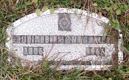 MONTGOMERY, JULIA B. - Monroe County, New York | JULIA B. MONTGOMERY - New York Gravestone Photos