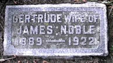 NOBLE, GERTRUDE - Monroe County, New York | GERTRUDE NOBLE - New York Gravestone Photos
