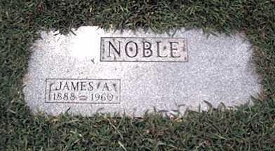 NOBLE, JAMES - Monroe County, New York | JAMES NOBLE - New York Gravestone Photos