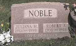 LIST NOBLE, JULIANA M. - Monroe County, New York | JULIANA M. LIST NOBLE - New York Gravestone Photos