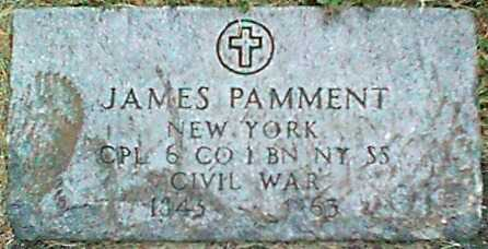 PAMMENT (CW), JAMES - Monroe County, New York | JAMES PAMMENT (CW) - New York Gravestone Photos