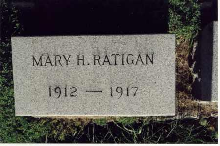 RATIGAN, MARY H. - Monroe County, New York | MARY H. RATIGAN - New York Gravestone Photos