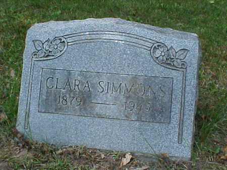 SIMMONS, CLARA LOUISE - Monroe County, New York | CLARA LOUISE SIMMONS - New York Gravestone Photos