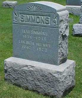 SIMMONS, LEVI - Monroe County, New York | LEVI SIMMONS - New York Gravestone Photos