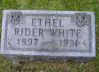 RIDER, ETHEL C. - Monroe County, New York | ETHEL C. RIDER - New York Gravestone Photos