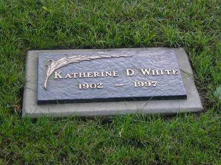 CAMP WHITE, KATHERINE D. - Monroe County, New York | KATHERINE D. CAMP WHITE - New York Gravestone Photos