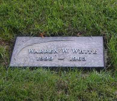 WHITE (WWI), WARREN W. - Monroe County, New York | WARREN W. WHITE (WWI) - New York Gravestone Photos