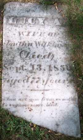 WILKINSON, LUCY A. - Monroe County, New York | LUCY A. WILKINSON - New York Gravestone Photos