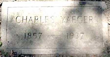 YAEGER, CHARLES - Monroe County, New York | CHARLES YAEGER - New York Gravestone Photos