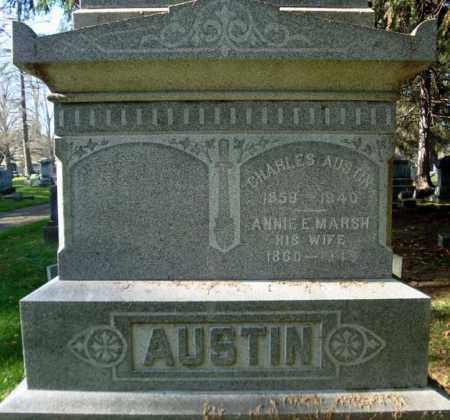 AUSTIN, ANNIE E - Montgomery County, New York | ANNIE E AUSTIN - New York Gravestone Photos