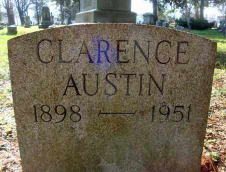 AUSTIN, CLARENCE - Montgomery County, New York | CLARENCE AUSTIN - New York Gravestone Photos