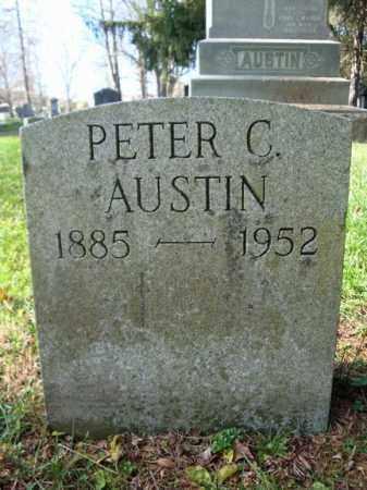 AUSTIN, PETER C - Montgomery County, New York | PETER C AUSTIN - New York Gravestone Photos