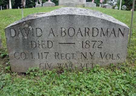BOARDMAN, DAVID A - Montgomery County, New York | DAVID A BOARDMAN - New York Gravestone Photos