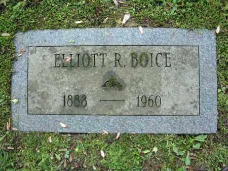 BOICE, ELLIOTT R - Montgomery County, New York   ELLIOTT R BOICE - New York Gravestone Photos