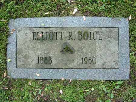BOICE, ELLIOTT R - Montgomery County, New York | ELLIOTT R BOICE - New York Gravestone Photos