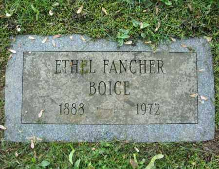 FANCHER, ETHEL - Montgomery County, New York | ETHEL FANCHER - New York Gravestone Photos