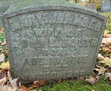 BAMBER BOOTH, MARY A - Montgomery County, New York | MARY A BAMBER BOOTH - New York Gravestone Photos