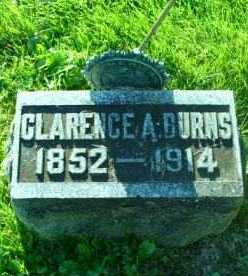 BURNS, CLARENCE A - Montgomery County, New York | CLARENCE A BURNS - New York Gravestone Photos