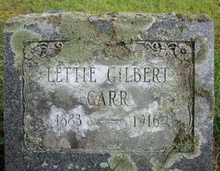 GILBERT CARR, LETTIE - Montgomery County, New York | LETTIE GILBERT CARR - New York Gravestone Photos