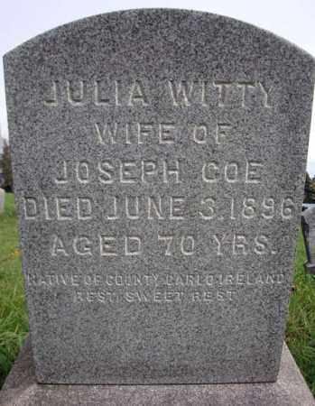 WITTY COE, JULIA - Montgomery County, New York | JULIA WITTY COE - New York Gravestone Photos