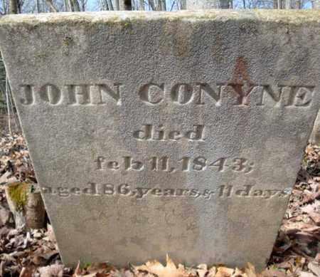 CONYNE, JOHN - Montgomery County, New York | JOHN CONYNE - New York Gravestone Photos