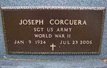 CORCUERA, JOSEPH - Montgomery County, New York   JOSEPH CORCUERA - New York Gravestone Photos