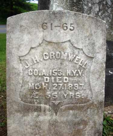 CROMWELL, J H - Montgomery County, New York | J H CROMWELL - New York Gravestone Photos