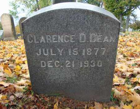 DEAN, CLARENCE D - Montgomery County, New York | CLARENCE D DEAN - New York Gravestone Photos