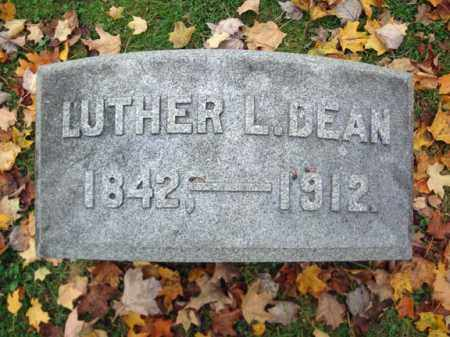 DEAN, LUTHER L - Montgomery County, New York | LUTHER L DEAN - New York Gravestone Photos