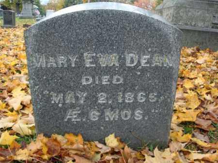 DEAN, MARY EVA - Montgomery County, New York | MARY EVA DEAN - New York Gravestone Photos
