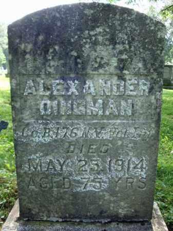 DINGMAN (CW), ALEXANDER - Montgomery County, New York | ALEXANDER DINGMAN (CW) - New York Gravestone Photos