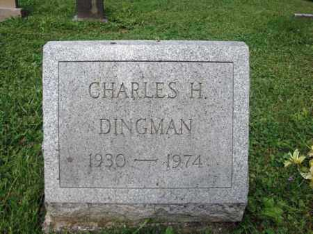 DINGMAN, CHARLES H - Montgomery County, New York | CHARLES H DINGMAN - New York Gravestone Photos