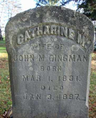DINGMAN, CATHARINE M - Montgomery County, New York | CATHARINE M DINGMAN - New York Gravestone Photos