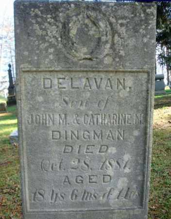 DINGMAN, DELAVAN - Montgomery County, New York | DELAVAN DINGMAN - New York Gravestone Photos