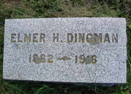 DINGMAN, ELMER H - Montgomery County, New York | ELMER H DINGMAN - New York Gravestone Photos