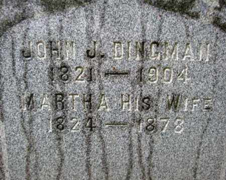 DINGMAN, JOHN J - Montgomery County, New York | JOHN J DINGMAN - New York Gravestone Photos