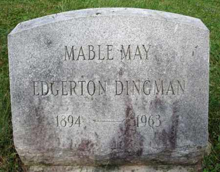 DINGMAN, MABLE MAY - Montgomery County, New York | MABLE MAY DINGMAN - New York Gravestone Photos