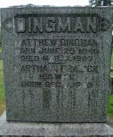 DINGMAN, MATTHEW - Montgomery County, New York | MATTHEW DINGMAN - New York Gravestone Photos