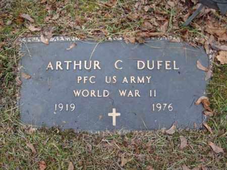 DUFEL (WWII), ARTHUR C - Montgomery County, New York | ARTHUR C DUFEL (WWII) - New York Gravestone Photos