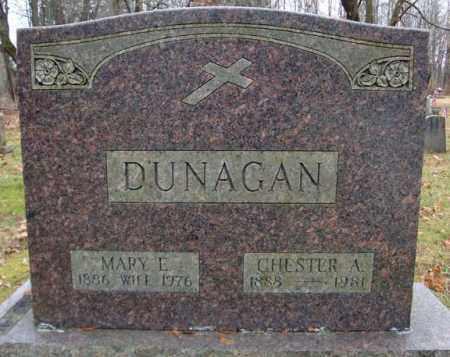 DUNAGAN, CHESTER A - Montgomery County, New York | CHESTER A DUNAGAN - New York Gravestone Photos